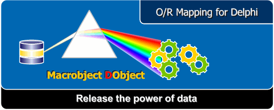 An O/R Mapping (Object-Relation Mapping) component package for Borland Delphi.