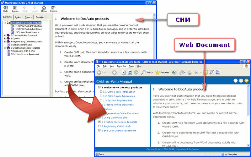 Freware & shareware online manual creator downloads
